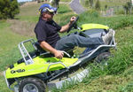 Grillo Climber 7.13 Ride on Mower