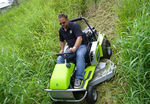 Grillo Climber 9.22 Magnum Ride on Mower - Mowing