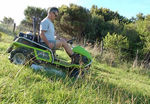 Grillo Climber 9.22 Ride on Mower - Mowing